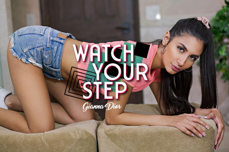 Watch Your Step feat. Gianna Dior - VR Porn Video
