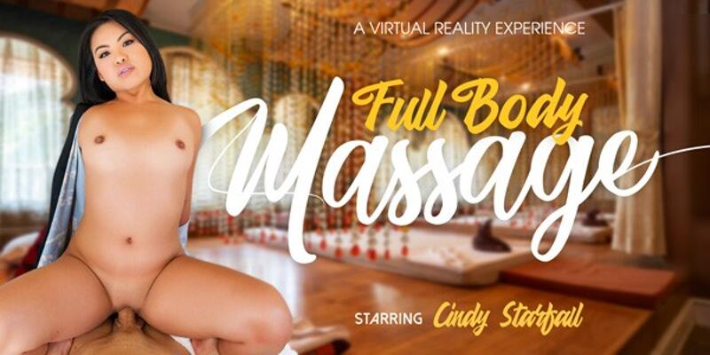 Full Body Massage feat. Cindy Starfall - VR Porn Video