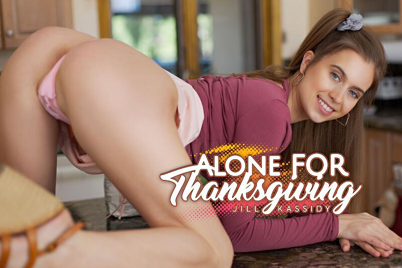 Alone For Thanksgiving feat. Jill Kassidy - VR Porn Video