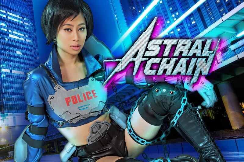 Astral Chain A XXX Parody feat. Jade Kush - VR Porn Video