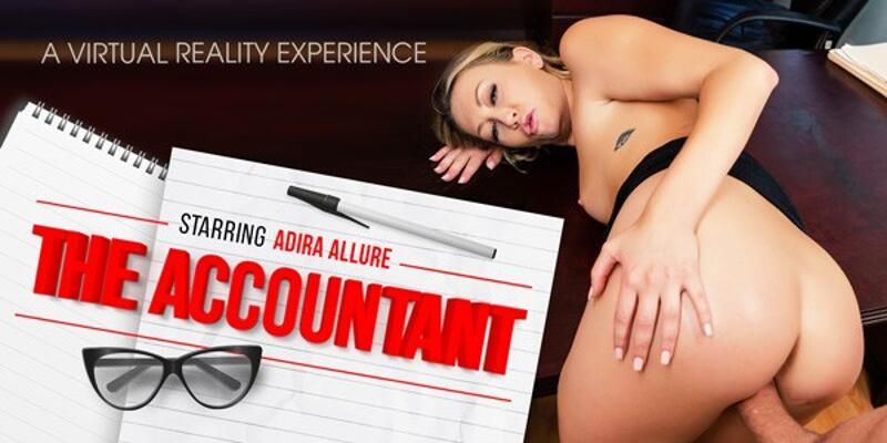 The Accountant feat. Adira Allure - VR Porn Video