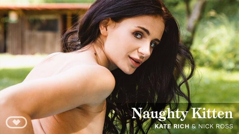 Naughty Kitten feat. Kate Rich, Nick Ross - VR Porn Video