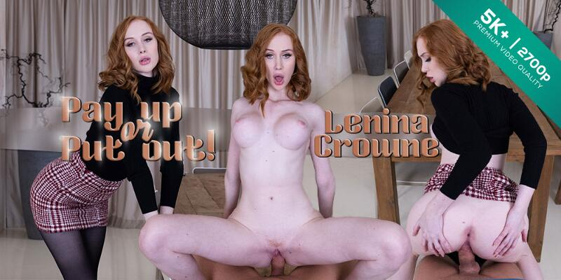 Pay up or Put out! feat. Lenina Crowne - VR Porn Video