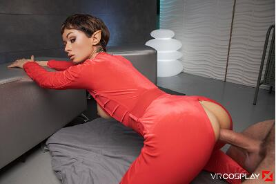 Star Trek Enterprise A XXX Parody - Stacy Bloom - VR Porn - Image 6