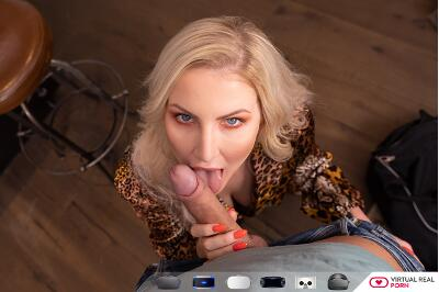A Lucky Student - Georgie Lyall, Nick Ross - VR Porn - Image 1