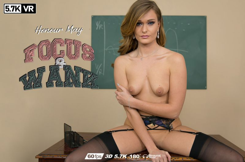 Focus & Wank feat. Honour May - VR Porn Video