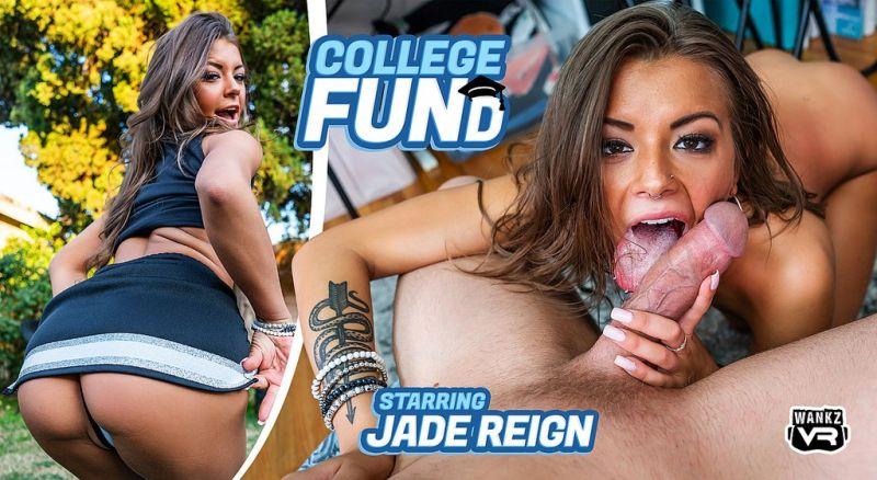 College FUNd feat. Jade Reign - VR Porn Video