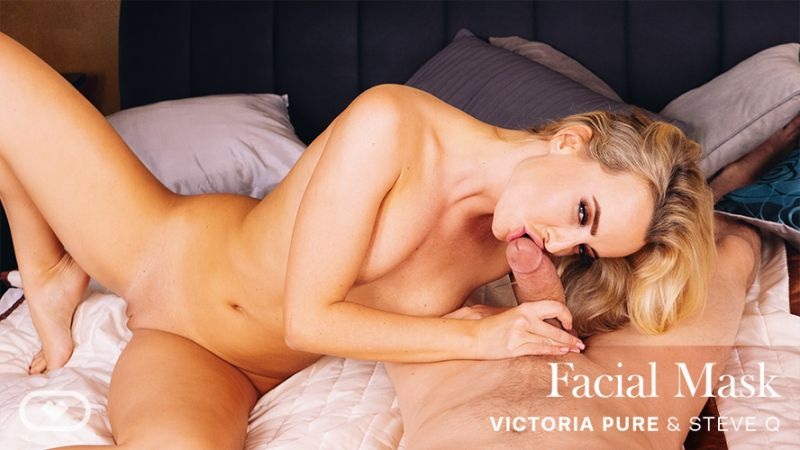 Facial Mask feat. Victoria Pure - VR Porn Video