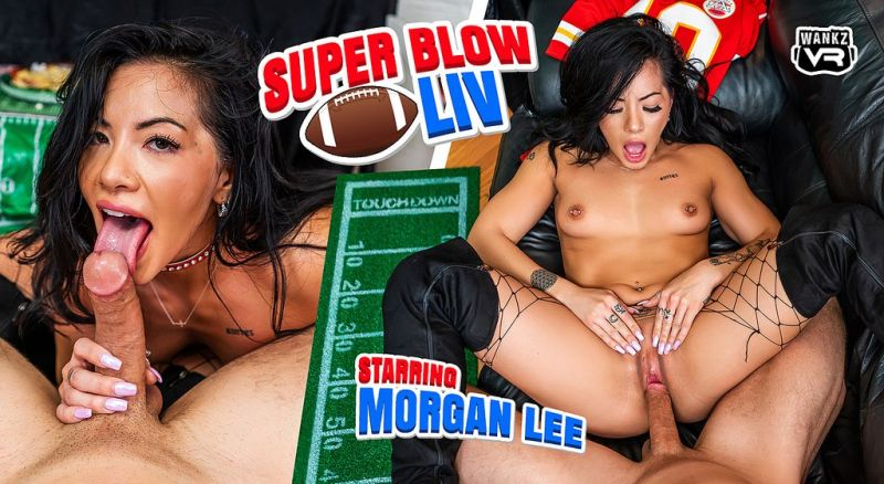 Super Blow LIV feat. Morgan Lee - VR Porn Video
