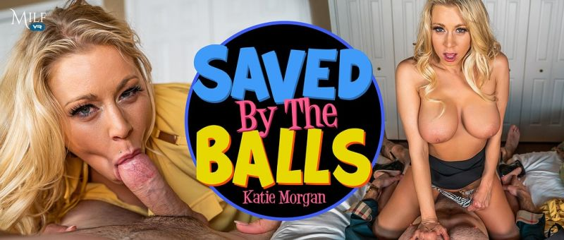 Saved by the Balls feat. Katie Monroe - VR Porn Video