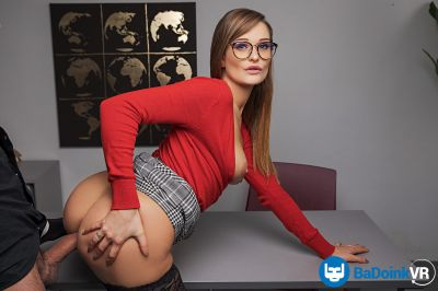 A Valuable Lesson - Honour May - VR Porn - Image 13