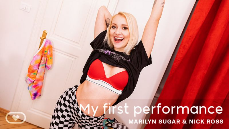 My First Performance feat. Marilyn Sugar - VR Porn Video