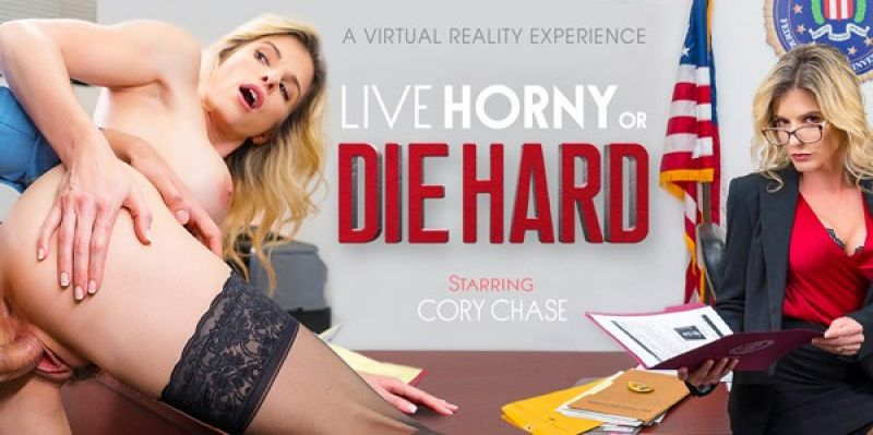 Live Horny or Die Hard feat. Cory Chase - VR Porn Video