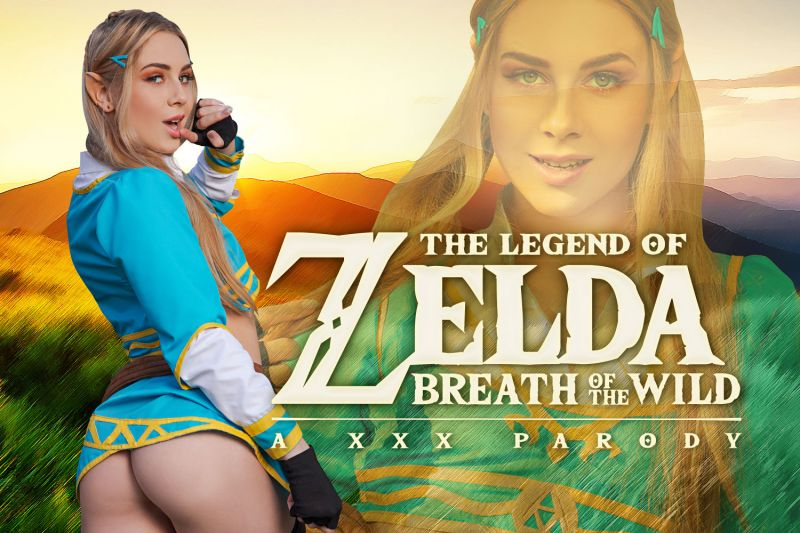Zelda: Breath of the Wild A XXX Parody feat. Alecia Fox - VR Porn Video