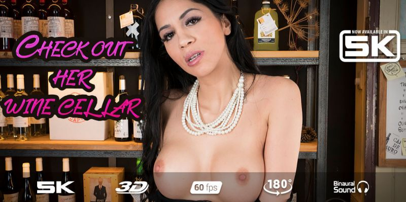 Rendezvous with Sommelier feat. Julia de Lucia - VR Porn Video
