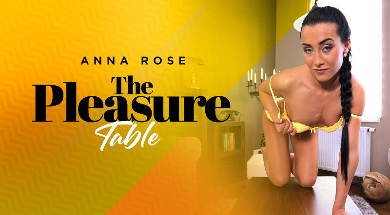 The Pleasure Table feat. Anna Rose - VR Porn Video