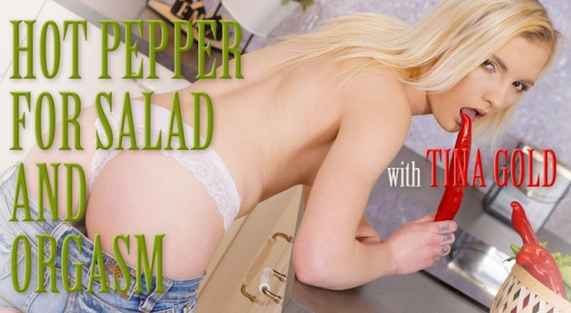 Hot Pepper For Salad And Orgasm feat. Tyna Gold - VR Porn Video