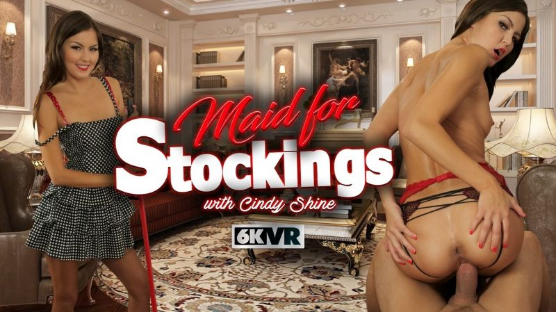 Maid For Stockings feat. Cindy Shine - VR Porn Video