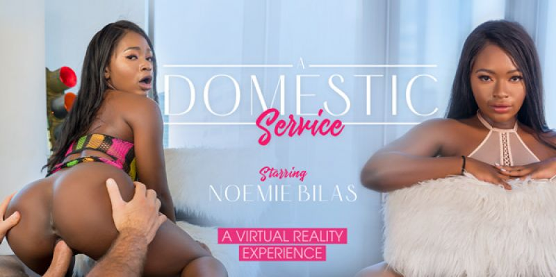 A Domestic Service feat. Noemie Bilas - VR Porn Video