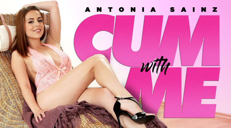Cum With Me feat. Antonia Sainz - VR Porn Video