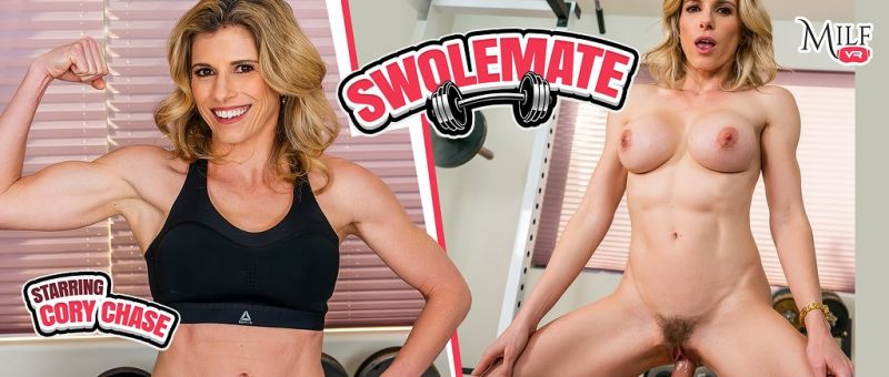 Swolemate feat. Cory Chase - VR Porn Video