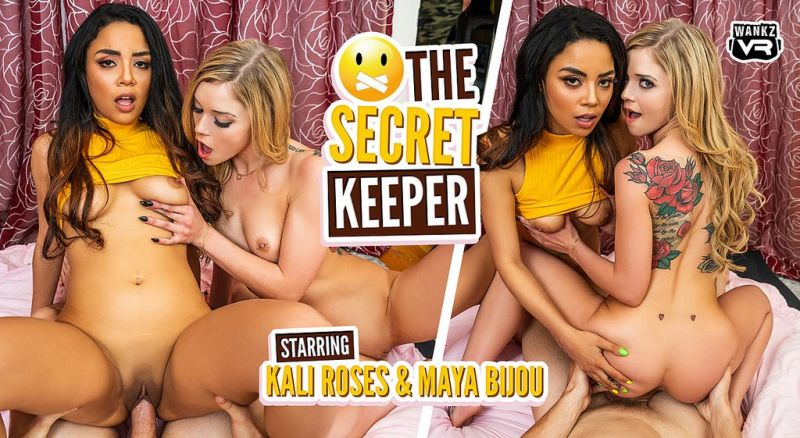 The Secret Keeper feat. Kali Roses, Maya Bijou - VR Porn Video