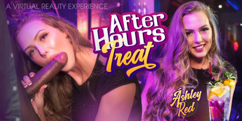 After Hours Treat feat. Ashley Red - VR Porn Video