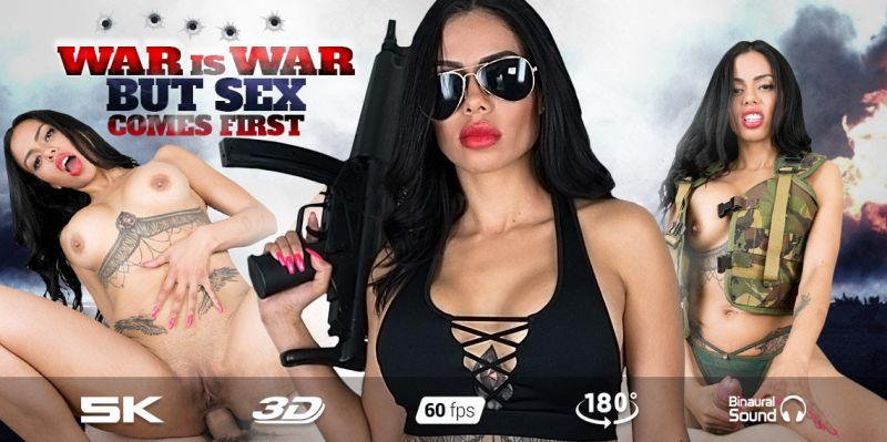 Sergeant Canela feat. Canela Skin - VR Porn Video