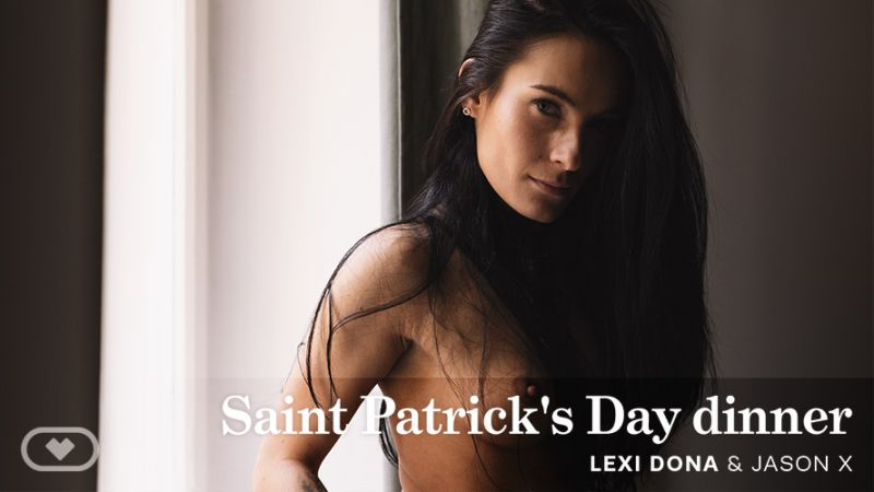 Saint Patrick's Day Dinner feat. Lexi Dona - VR Porn Video