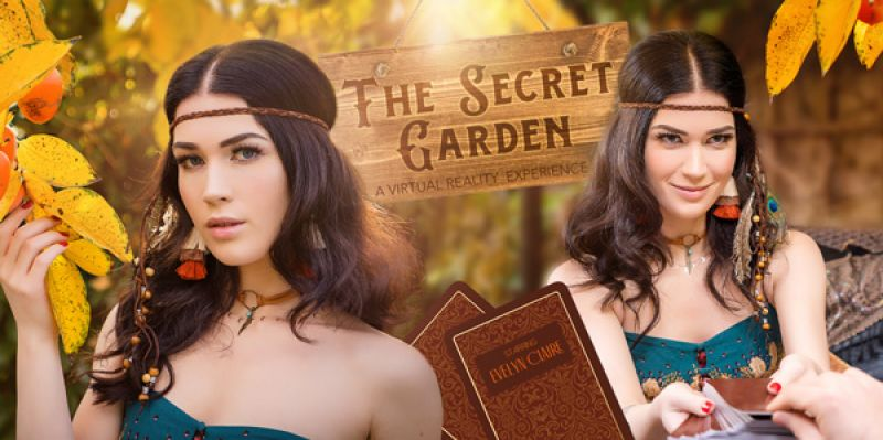 The Secret Garden feat. Evelyn Claire - VR Porn Video