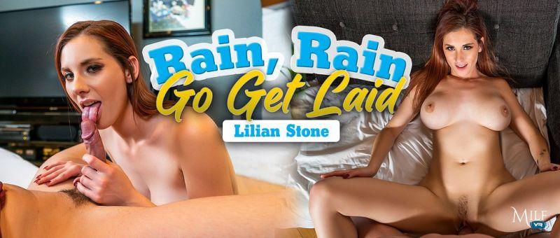 Rain, Rain, Go Get Laid feat. Lilian Stone - VR Porn Video