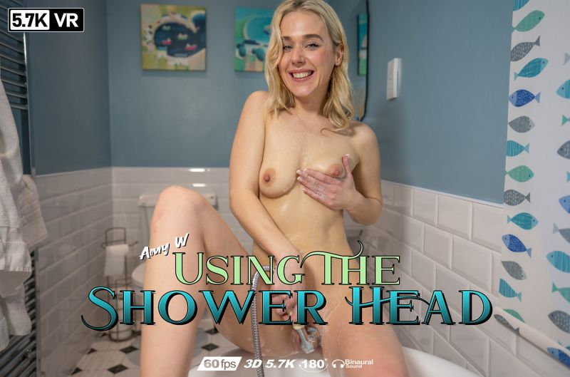 Using The Shower Head feat. Amy W - VR Porn Video