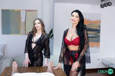 Double Massage - Ania Kinski, Nicole Pearl - VR Porn - Image 1