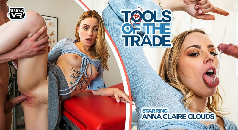 Tools of the Trade feat. Anna Claire Clouds - VR Porn Video