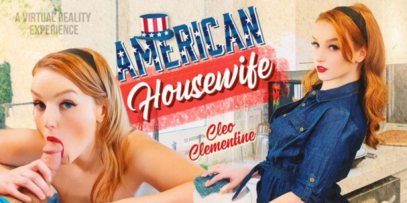 American Housewife feat. Cleo Clementine - VR Porn Video