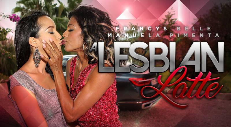 A Lesbian Latte feat. Francys Belle, Manuella Pimenta - VR Porn Video