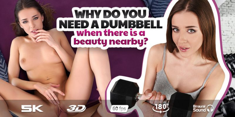 The Workout with Sybil feat. Sybil A - VR Porn Video