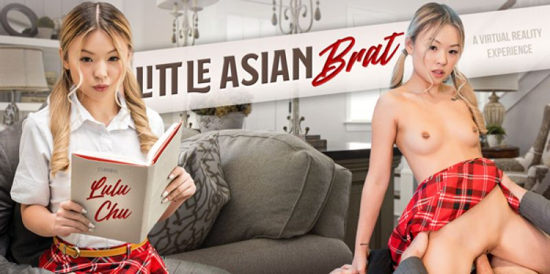 Little Asian Brat feat. Lulu Chu - VR Porn Video