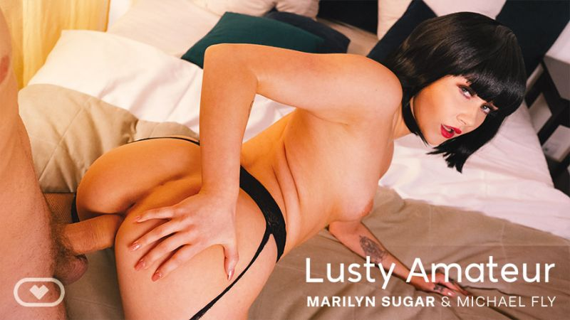 Lusty Amateur feat. Marilyn Sugar - VR Porn Video