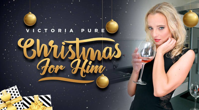 Christmas For Him feat. Victoria Pure - VR Porn Video