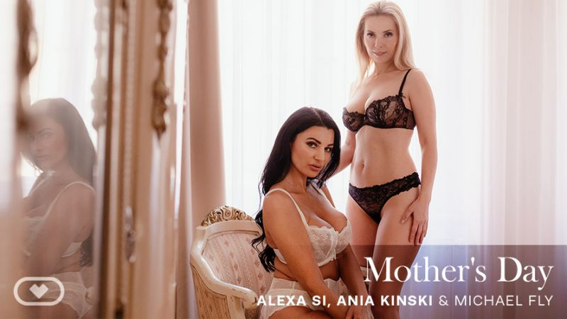 Mother's Day feat. Alexa Si, Ania Kinski, Michael Fly - VR Porn Video