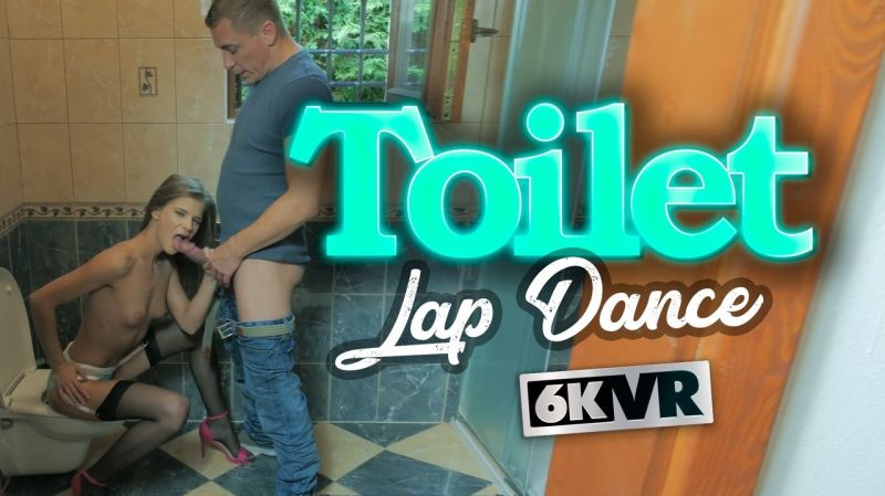 Toilet Lap Dance feat. Sarah Kay - VR Porn Video