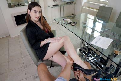 Office Fling - Elena Vega - VR Porn - Image 2