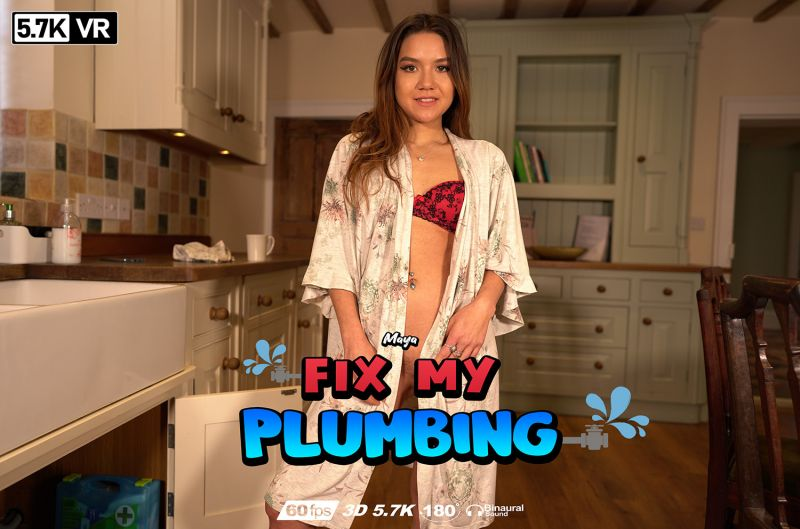 Fix My Plumbing feat. Maya - VR Porn Video