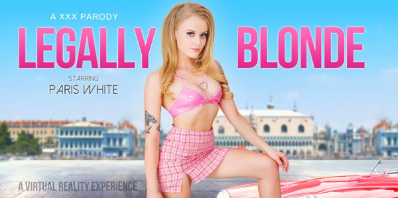 Legally Blonde A XXX Parody feat. Paris White - VR Porn Video