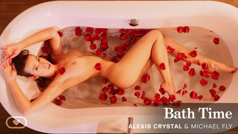 Bath Time feat. Alexis Crystal, Michael Fly - VR Porn Video