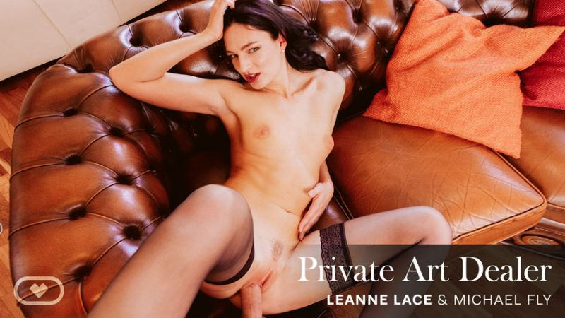 Private Art Dealer feat. Leanne Lace, Michael Fly - VR Porn Video