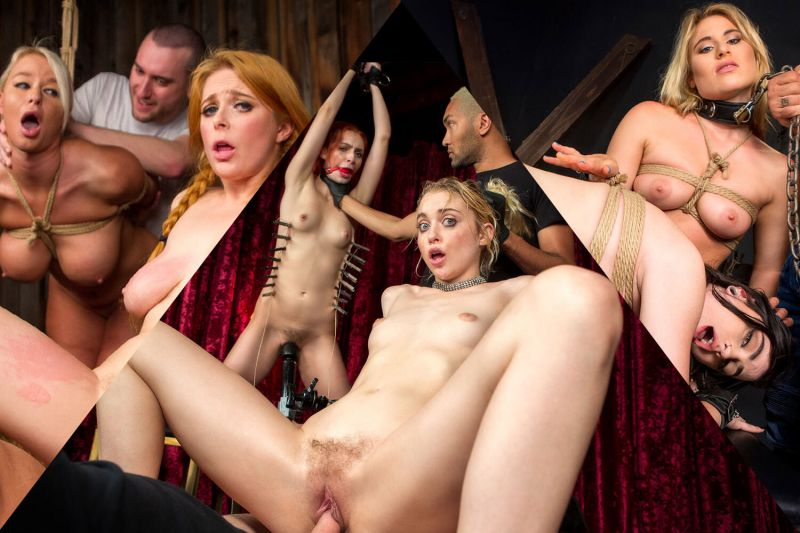 Sub Sluts Get Fucked Compilation feat. Chloe Cherry, Kira Noir, Lily Lane, Lindsey Cruz, London River, Lydia Black, Maya Kendrick, Penny Pax - VR Porn Video
