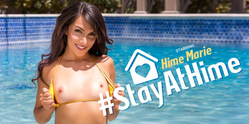 #StayAtHime feat. Hime Marie - VR Porn Video