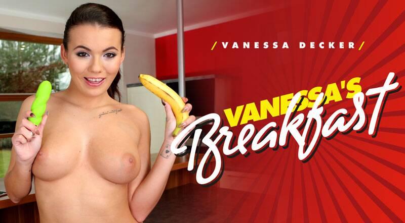 Vanessa's Breakfast feat. Vanessa Decker - VR Porn Video